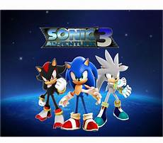 sonic adventure 3 three heroes hedgehogs by 9029561 on