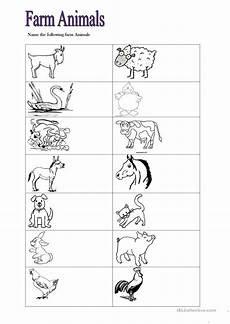 farm animals worksheets for preschool 14135 farm animals worksheet free esl printable worksheets made by teachers