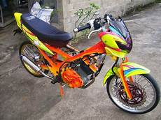 Modifikasi Motor Fu by Modifikasi Suzuki Satria Fu 150 Airbrush