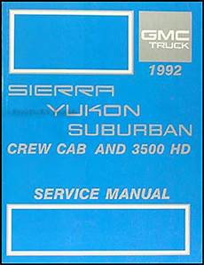 service manuals schematics 1992 gmc vandura 1500 security system 1992 gmc fuel emissions manual original pickup van motorhome
