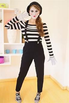 mime costume tutorial disfraces disfraces y