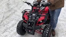 proba atv 125 cc roata 8