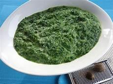 rezept frischer spinat rahmspinat aus frischem spinat rezept thermomix in