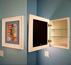 Bathroom Storage No Medicine Cabinet by Recessed Medicine Cabinet W Picture Frame Door No Mirror