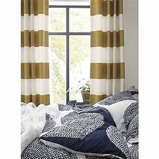 Navy And Gold Curtains by Alston Ivory Gold Curtains Bed Linens Crate And Barrel