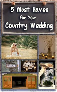 5 must haves for your country wedding my online wedding