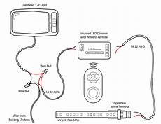 light wiring diagram diy project tutorial led car lighting inspiredled
