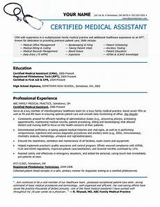 medical assistant resume entry level exles medical assistant mrs shannon medical