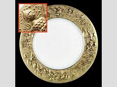 Rosenthal Continental MAGIC FLUTE GOLD Dinner Plate