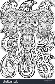 1000 images about coloring pages to print elephant on