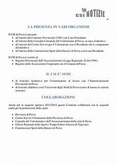 associazioni volontariato pavia csi pavia notizie n 31bis del 27 08 13