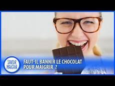 peut on maigrir en mangeant du chocolat r 233 gime savoir