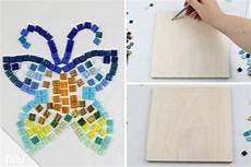mosaik selber machen bastel ideen mosaiksteine