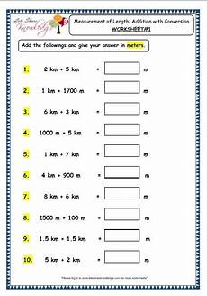 measurement division worksheets 1409 grade 3 maths worksheets 11 3 measurement of length addition with conversion measurement