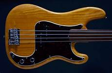 fender fretless precision bass fender precision 1978 fretless four string bass black for sale uk on offer second bass