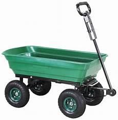 miweba bollerwagen dumper mit kippfunktion bis 300 kg