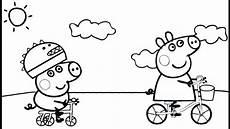 Peppa Wutz Ausmalbilder Fahrrad Peppa Wutz Malvorlagen Zum Ausdrucken