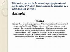 jan 15 2015 developing a professional resume