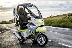 Self Motorcycle To Test Autonomous Vehicles