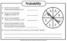 probability worksheets spinners 5883 worksheet worksheets 2nd grade grass fedjp worksheet study site
