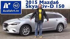 mazda6 exclusive line 2015 mazda6 kombi skyactiv d 150 fwd exclusive line