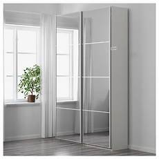 ikea pax wardrobe white auli mirror glass products