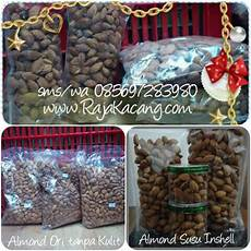 jual kacang almond 1dus 10kg di lapak raja kacang rajakacang