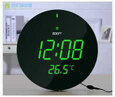 jumbo large modern design digital home decor night light led wall clock watch ebay