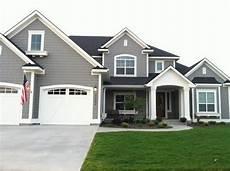 dovetail gray sw white dove bm exterior paint colors exterior house color house colors