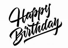 free vector happy birthday lettering