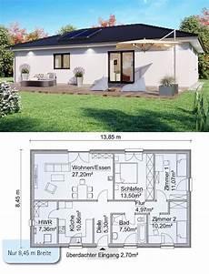 bungalow haus mit walmdach architektur grundriss schmal