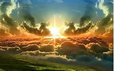 Sun In The Clouds Backgrounds