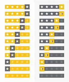 vorlagen f 252 r die sterne bewertung auf webseiten und zur