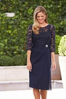 aliexpress com buy elegant navy blue mother of the bride dresses knee length plus size