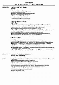 exle of finance internship resume ministry of finance