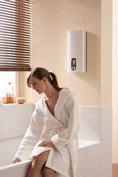 Moderne Warmwasserbereitung Im Badezimmer Systeme
