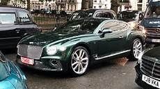 new 2019 bentley continental gt spotted driving in london