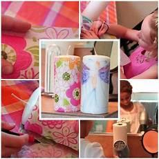 deko idee zum malen und basteln mit kindern kerzen