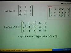 using cramer s rule to solve equation