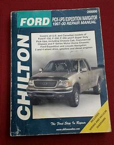 auto repair manual free download 1999 lincoln navigator user handbook chilton repair manual book 26666 ford trucks f150 f250 f350 expedition 1997 00 chilton