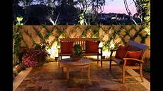 backyard lighting ideas youtube