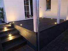 Terrasse Led Beleuchtung - moderne terrasse mit beleuchtung wpc terrassendielen