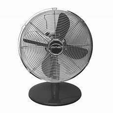 ventilateur de table silencieux ventilateur de table tm30 noir leroy merlin