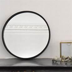 miroir rond metal miroir rond en m 233 tal noir mat soho arne lykke decoclico