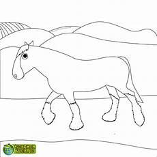 Malvorlage Pferd Gratis Malvorlage Pferd