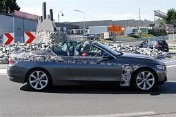 Spyshots BMW F33 4 Series Cabrio With Minimal Camo And