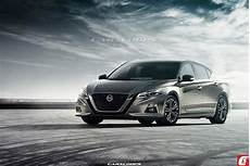 2019 nissan altima rendering 2019 nissan altima everything we carscoops