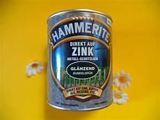 josettas welt hammerite direkt auf zink