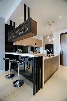 modern kitchen interior design images modern kitchen design with integrated bar counter for a
