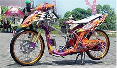 Modifikasi Mio 2008 by Modifikasi Yamaha Mio 2008 Honda Motorcycle Sports